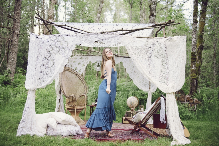 Boho Garden Teen Photos