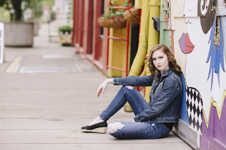 Urban Teen Photo Shoot