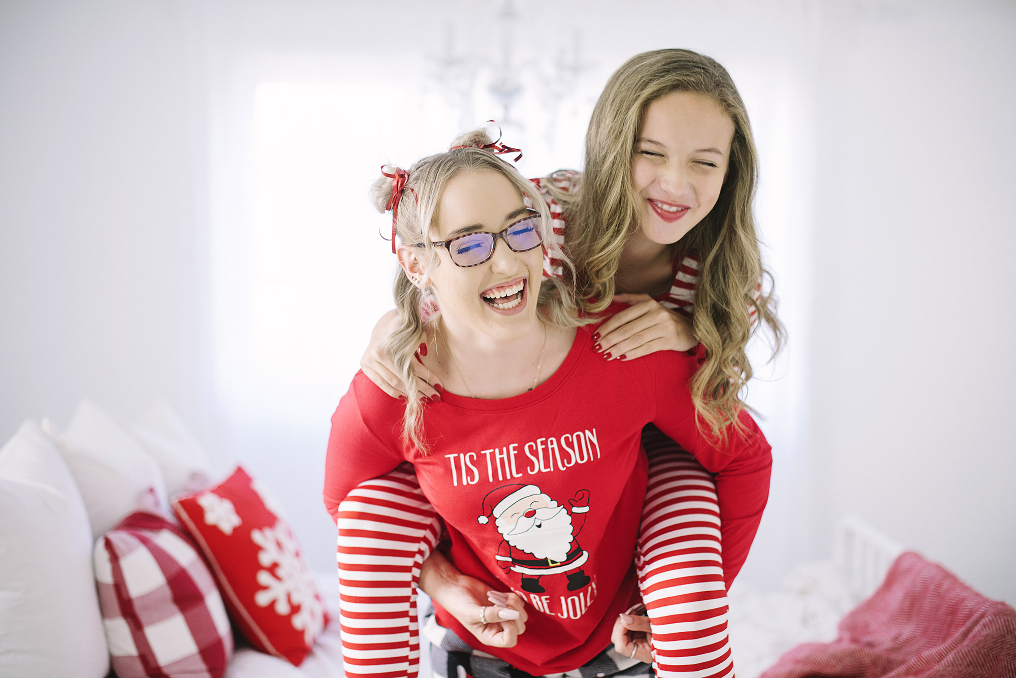 Christmas Themed Teen Photos